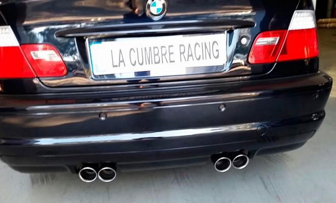 Bmw M3 Escapes La Cumbre